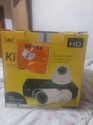 Título do anúncio: Kit de câmera completo