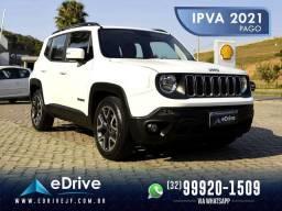 Jeep Renegade Longitude 1.8 4x2 Flex Aut. - IPVA 2021 Pago - Impecável - Nova - 2019