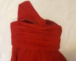 Título do anúncio: Vestido longo vermelho