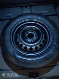 Estepe roda Zafira cinco furos aro 16