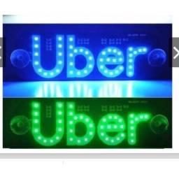 Placa para Uber