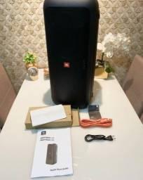 JBL PartyBox 200 Caixa de Som Portátil Bluetooth LED USB 120 Wrms Preto ( estado de zero )