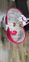 cadeira de descanso 3 em 1 rocker napper red - tiny love