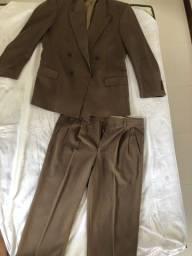 PROMOÇÃO!! Terno e calça social marrons masculinos Chester!!