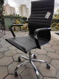 Cadeira Presidente Eimes Executiva de couro - somente retirada