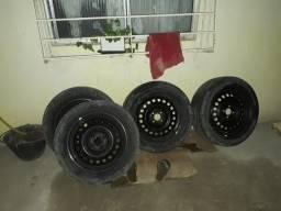 Rodas aro 16 de ferro