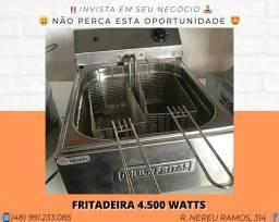 Fritadeira 2 Cestos 4500 Watts - Novo - Com garantia | Matheus