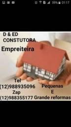 D&ED construtora e impreitera