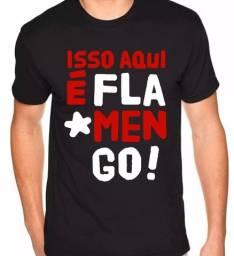 Título do anúncio: Camisa camiseta isso aqui é flamengo