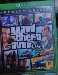Título do anúncio: Xbox One - GTA 5 Premium Edition