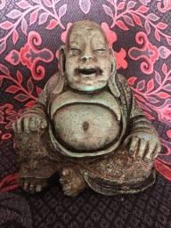 Belíssimo BUDHA esculpido em pedra