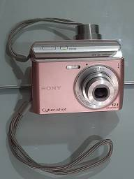 Câmera sony rosa