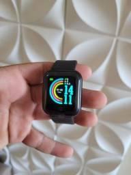 Smartwatch Y68/D20 Preto Coloca foto fit pro