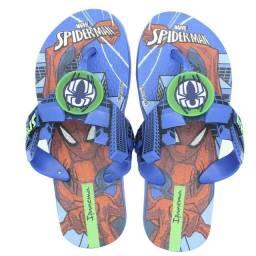 Título do anúncio: Chinelo Infantil Ipanema Homem Aranha Action Marvel Azul