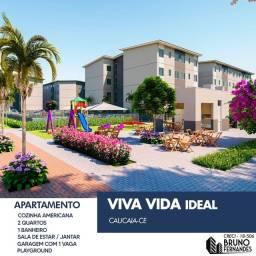 Título do anúncio: Caucaia, Jurema - Apartamento com área de lazer completa
