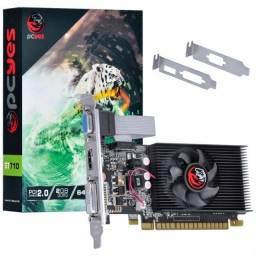 placa de video nvidia geforce gt 710 2gb ddr3 64 bits com kit low