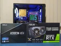 PC Gamer i5 9th + RTX 2060 (Roda tudo)