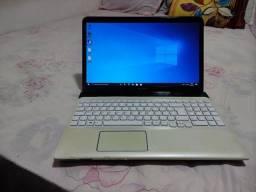 Título do anúncio: Notebook Sony vaio core i7 tela 15.6 teclado numérico RAM 4 GB  HD 500 bateria boa