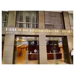 Título do anúncio: Sala Comercial Ed. De Paoli, Centro do Rio.