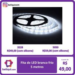 Título do anúncio: Fita LED 5 m | Branco Frio |
