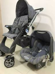 Carro de Bebê + Bebê Conforto