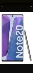 Título do anúncio: Samsung note 20 256 5g semi novo