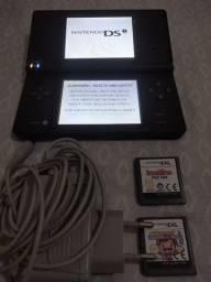 Nintendo Dsi + 2 jogos e carregador original pra hoje Aceito cartão