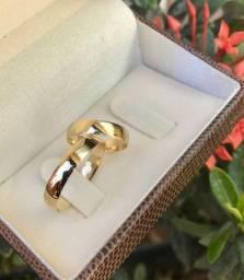 Alianças de noivado casamento ouro 18k