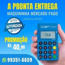 Título do anúncio: 40 Reais Pronta Entrega Maquininha Point Mini