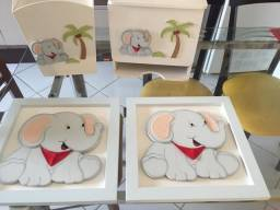 Título do anúncio: Kit decoração infantil Elefante