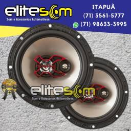 Par Alto-Falante Triaxial Bravox 6 pol. B3x60x 100WRms instalado na Elite Som