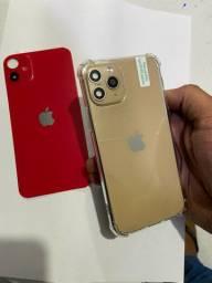 Pelicula traseira do iPhone x com visual do 11 pró