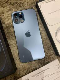 Iphone 12 pro max 128 gigas 1 mes de uso com nota vendo troco.