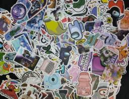 Título do anúncio: 50 Stickers Adesivo aleatórios// Vinil impermeável
