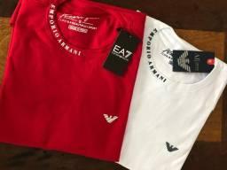 Camiseta Armani gola