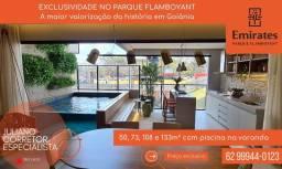 Título do anúncio: Vende-se apto com 74 m² com 2 suítes no Jardim Goiás.