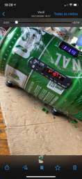 caixinha de  som da Heineken