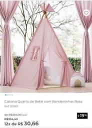 Cabana rosa