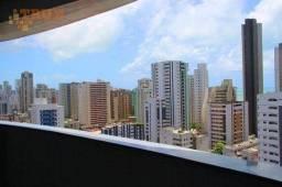 Título do anúncio: Apartamento com 3 dormitórios para alugar, 91 m² por R$ 3.800,00/mês - Boa Viagem - Recife