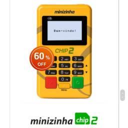 Maquininha de cartão Minizinha Chip2 - Pronta Entrega