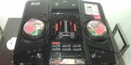 Som LG efeito DJ 4100W