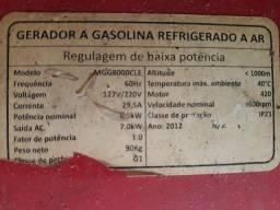 Vendo Gerador 8kva R$ 3.200,00