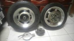 Rodas, com pneus Miragem 250 - 2011