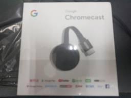Deixe sua tv smart chromecast 2