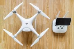 Drone dji phantom 4 pro +, branco. novinho