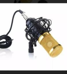 Microfone de estudio