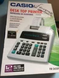 Calculadora Casio Printer
