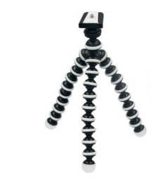 Mini Tripé Flexível Suporte Câmera Celular Universal