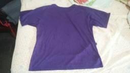 Camisa G Roxa lisa nunca usada (Unissex) ca1a1f6e9364b