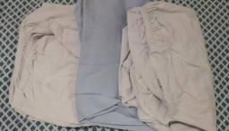 Lote de lençóis para berço